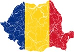 Romania Flag And Map