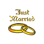 JUST MARRIED (rings)