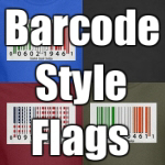 Barcode Style Flags