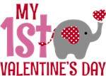Elephant Girl's 1st Valentine's Day