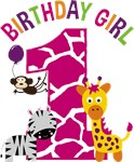 Girl Jungle 1st Birthday