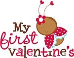 1st Valentines Day Ladybug