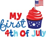 Cupcake First 4th of July
