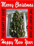 Merry Christmas Alabma State Xmas Tree