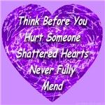 Shattered Heart Violet