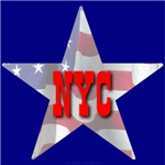 NYC Patriotic City Star