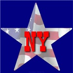 NY Patriotic State Star