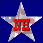NH Patriotic State Star