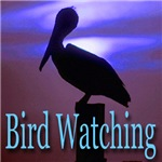 Bird Watching Midnight Blue