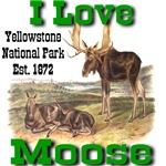 I Love Moose YNP