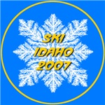 * On Sale * Ski Idaho 2007 Snowflake