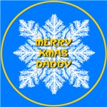 Merry Xmas Daddy Snowflake