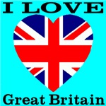 I Love Great Britain Heart