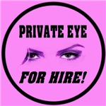 Private Eye For Hire Emblem