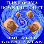 Flush Osama Down The Toilet