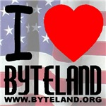 I Love Byteland (Front & Back)