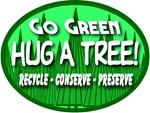 Go Green Hug A Tree 2008a