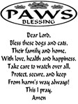 Paws Blessing for dogs & cats