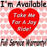 Take Me For A Joy Ride Full Service Warranty
