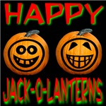 Happy Jack-o-lanterns