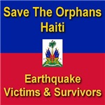 Save The Orphans (Front) Help Heal Haiti (Back)