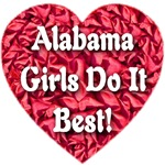 Alabama Girls Do It Best