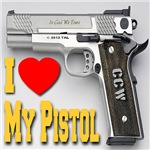 I Love My Pistol
