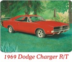 1969 Red Dodge Charger R/T