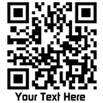 QR matrix barcode graphic