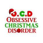 Obsessive Christmas Disorder Funny