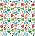 Spring Symbols Pattern