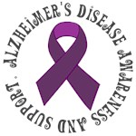 Alzheimer Disease Awareness Ribbon