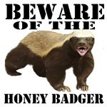 Beware of the honey badger