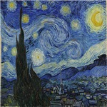 Starry Night of Vincent van Gogh