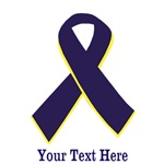Arthritis awareness ribbon