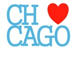 Chicago The Windy City Classic Wht&Blu Lrg ChiTown