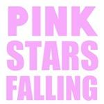 Pink Stars Falling