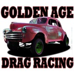 1948 Ford Gasser Drag Racing