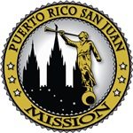 Puerto Rico San Juan LDS Mission Classic Seal Gold