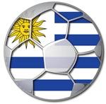 Uruguay Flag World Cup Soccer Football Futbol Ball