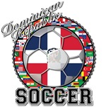 Dominican Republic Flag World Cup Soccer Ball with