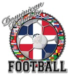 Dominican Republic Flag World Cup Football Ball wi