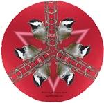 Chickadee Mandala