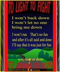Too Light to Fight
