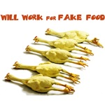 Will Work for Fake Food