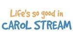 Life is so good in Carol Stream