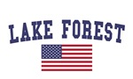 Lake Forest US Flag