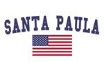 Santa Paula US Flag