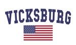 Vicksburg US Flag