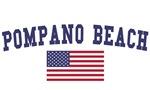 Pompano Beach US Flag